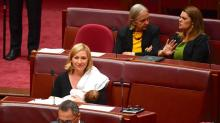 Australian Politician Breastfeeds Baby on Parliament Floor, Making History