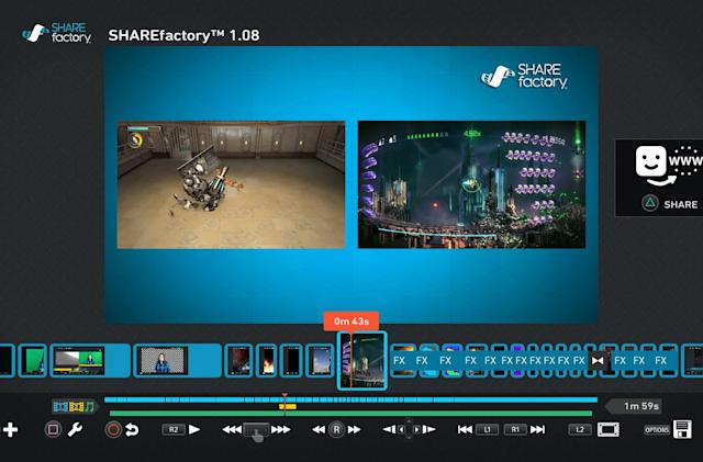 Sony adds picture-in-picture editing to PS4 Sharefactory app