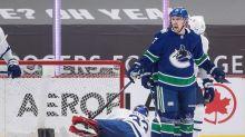Pearson, Sutter each score twice as Canucks dump Leafs 6-3