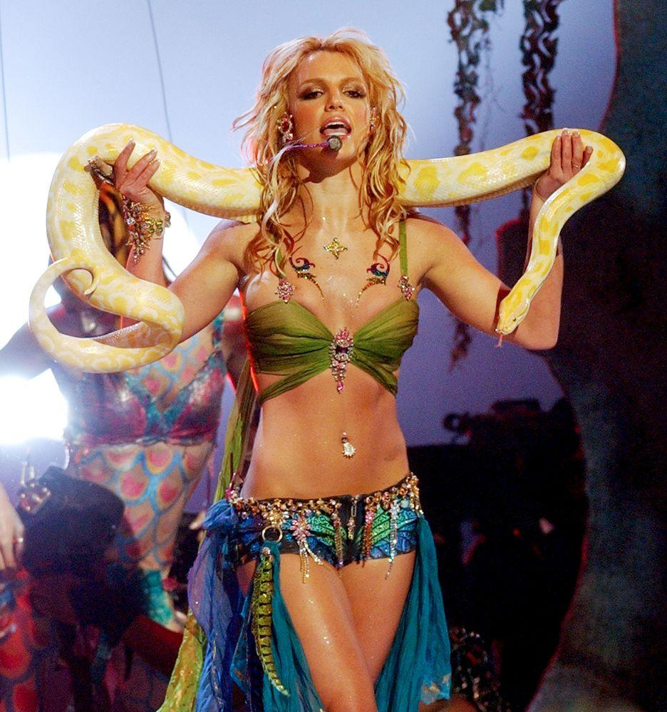 You Can Soon Own A Britney Spears I M A Slave 4 U Funko Doll Snake And All