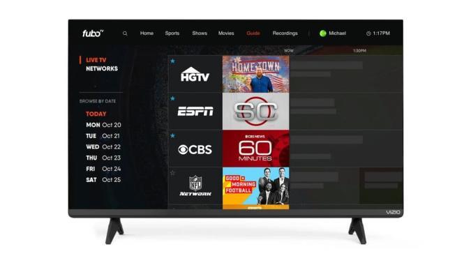 FuboTV on Vizio SmartCast