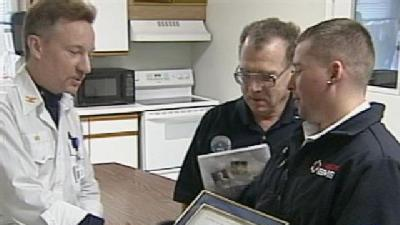 National Guard Honors Local EMT Business