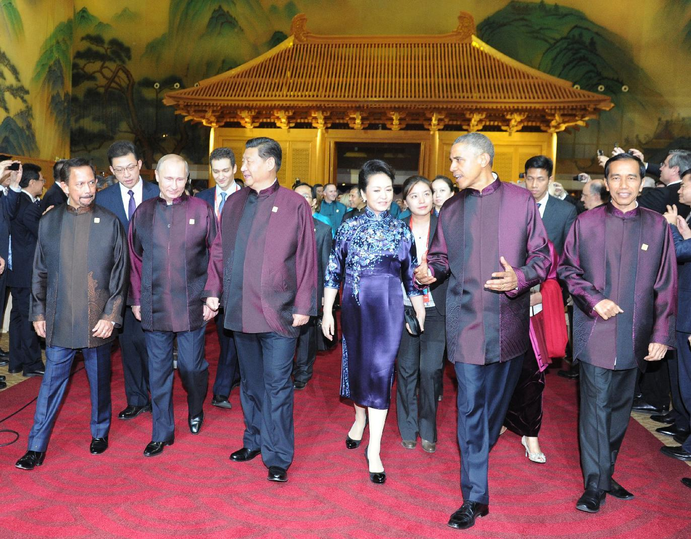 Саммит атэс в пекине обама фото