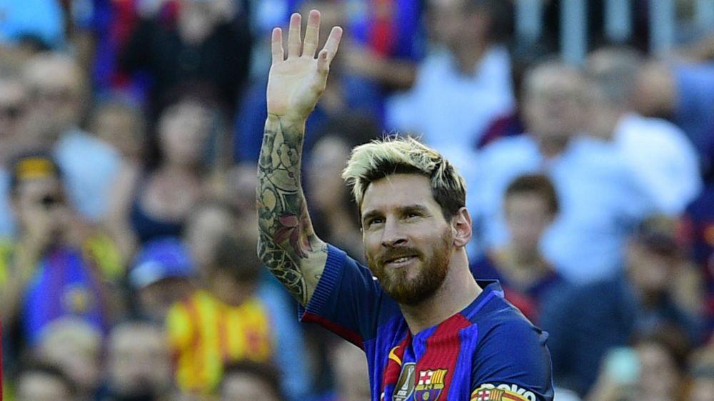 Lo que pasa cuando Messi hace un gol