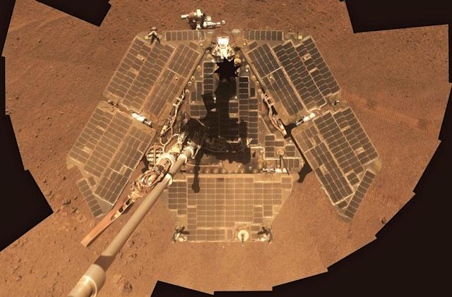 Mars Opportunity rover is in danger of dying from a dust storm