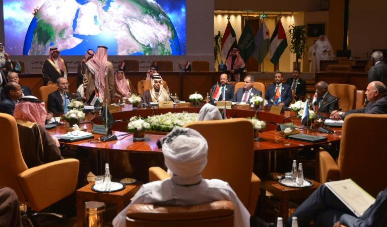 Foreign ministers of Arab and African coastal states meet in the Saudi capital Riyadh for talks on regional security