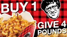 Celebrate National Poutine Day, help support food banks AND eat poutine!
