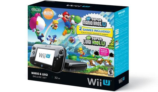 Nintendo's new Wii U Deluxe Set includes Mario games, ships November 1st for $300