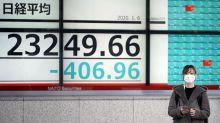 El coronavirus genera un retroceso del 0,14 % en el Nikkei