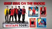 New Kids On The Block Announce The Mixtape Tour With Very Special Guests Salt-N-Pepa, Tiffany, Debbie Gibson And Naughty By Nature