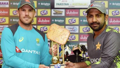 Internet erupts as bizarre biscuit trophy goes viral
