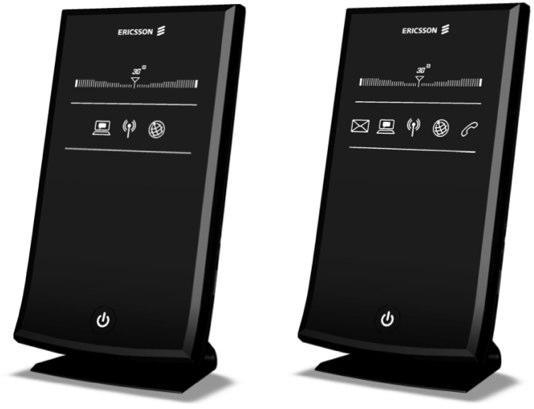 Ericsson's W3x Series HSPA Mobile Broadband Routers don't slouch on looks