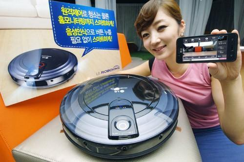 LG launches 'RoboKing Triple Eye' smartphone-controlled vacuuming robot