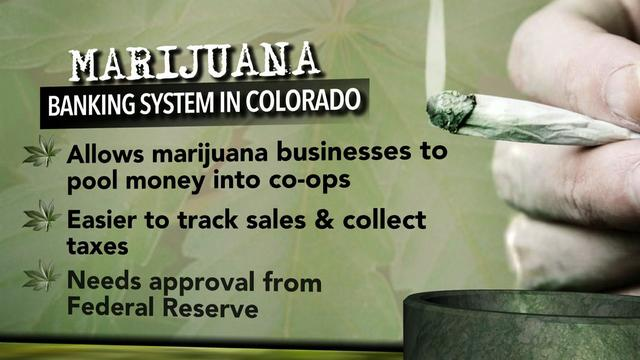 Colorado lawmakers approve cannabis banking system