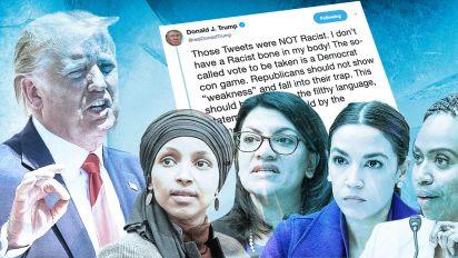Trump: 'Those Tweets were NOT Racist'