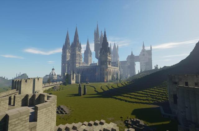 Fans are creating a Harry Potter role-playing game inside 'Minecraft'