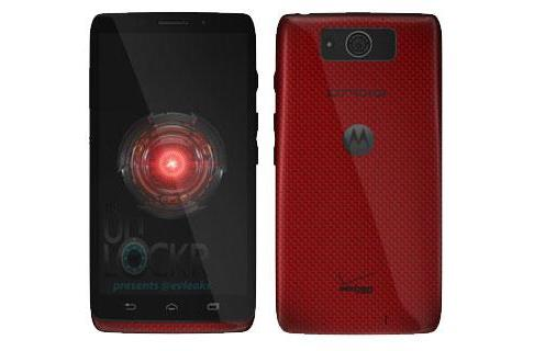 Motorola Droid Ultra leaks again, this time with a red, textured finish