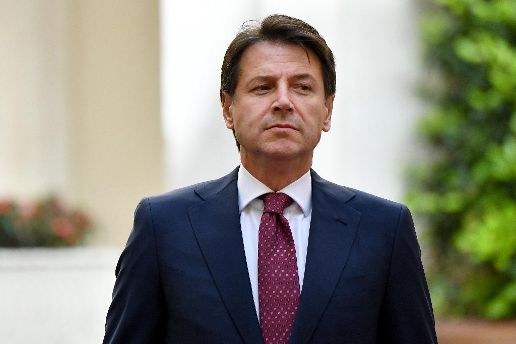 """Donald Trump may have a new ally in Italy's novice Prime Minister Giuseppe Conte, whom the US president praised as """"very strong"""" on immigration"""
