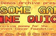 Speed Demos Archive playing through 100 games in four days for charity