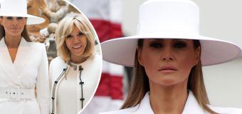 People are losing it over Melania Trump's hat