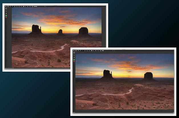iResizer for Mac rescales photos without distortion