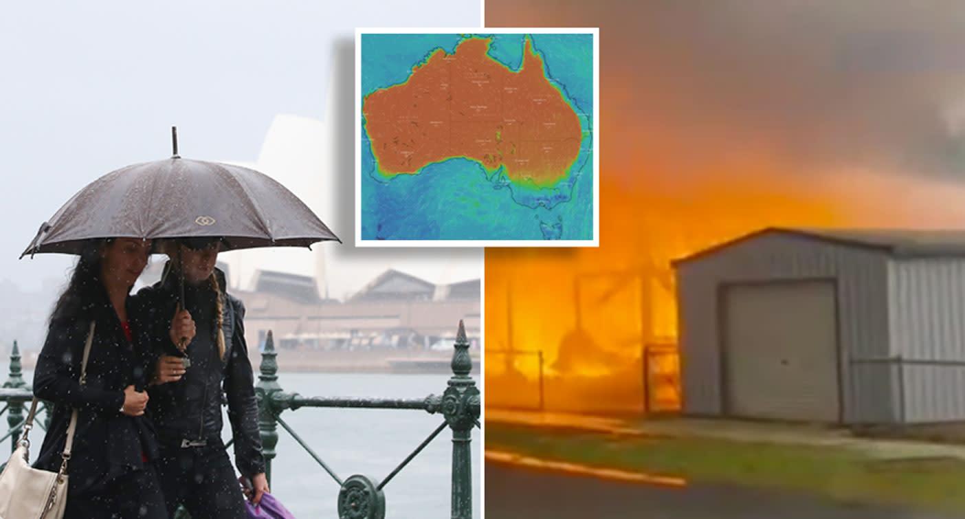 'Best in seven months': Heavy rainfall predicted after destructive bushfires