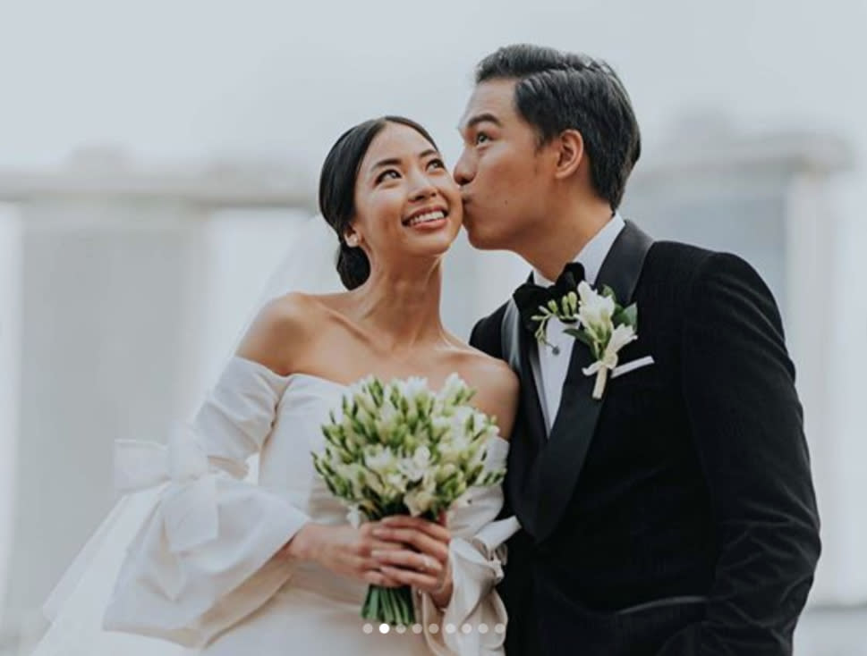 The Sam Willows' Jon Chua got married over the weekend and Ben Kheng was his groomsman