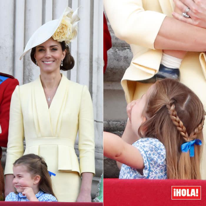 El peinado que une a Charlotte de Cambridge con la princesa Leonor y la infanta Sofía - Yahoo Style