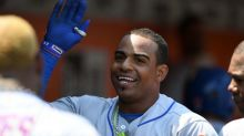 Yoenis Cespedes and his excellent cars are back at spring training