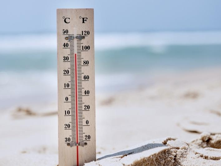 Hot weather settled across Orange County until at least Friday, the National Weather Service says as residents were reminded to save energy.