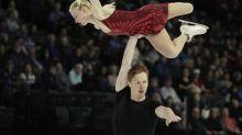 Tarasova-Morozov win Skate America pairs short program