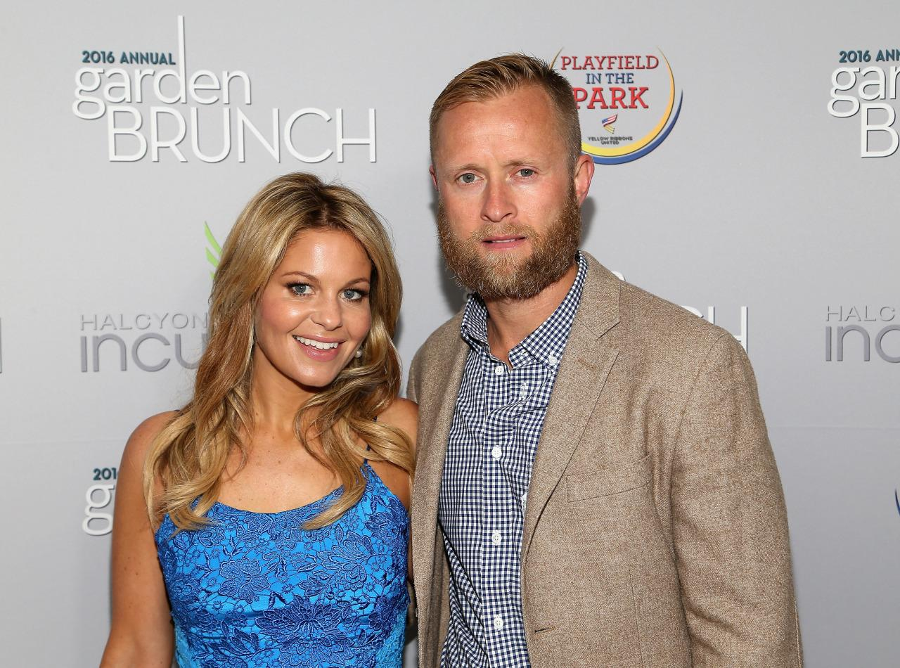 Candace Cameron Bure Marks 20th Anniversary With Baby Faced Wedding Throwback