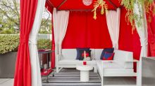 ADDING MULTIMEDIA Andaz Brand and (RED) Join Forces to Create Custom (ANDAZ)RED Cabanas
