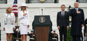 Trump to host glitzy state dinner for Macron