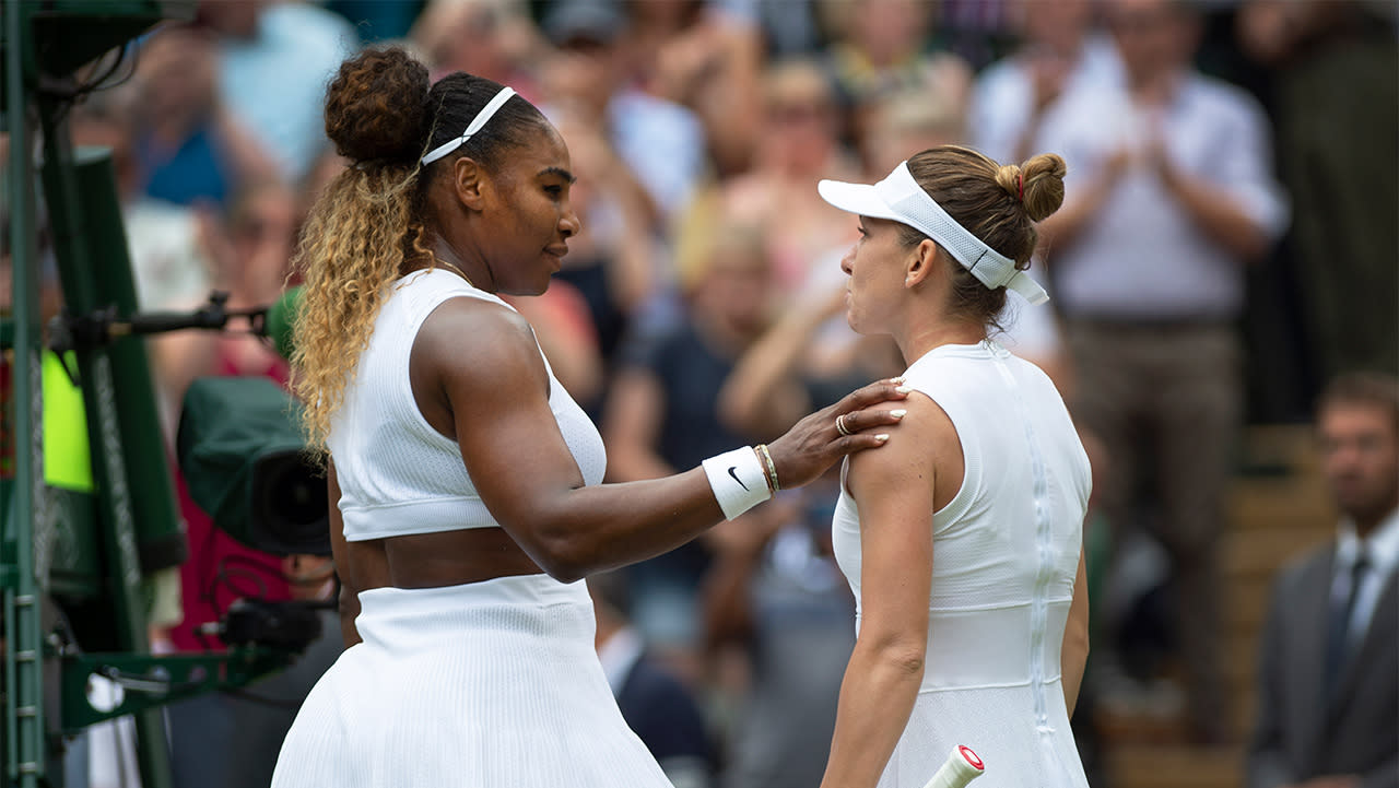 'Played out of her mind': Simona Halep denies Serena Williams grand slam record