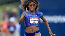 Olympic favorite? Sha'Carri Richardson 'sends shockwaves' with 100m time