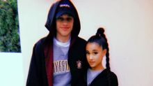 Ariana Grande And Pete Davidson Make It Official With 'Harry Potter' Photo