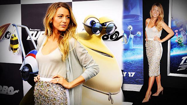 Blake Lively Takes It Turbo in Sexy Burberry