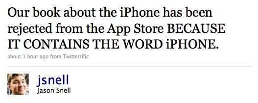 Apple rejects Macworld iPhone Superguide from App Store... for using the word 'iPhone'