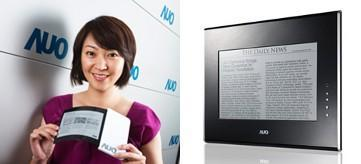 AUO demonstrates 6-inch flexible electronic paper, pledges production for next year