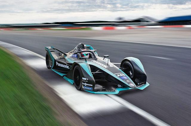 Jaguar's next-gen Formula E race car packs more power
