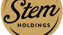 Stem Holdings Announces Closing of Public Unit Offering