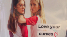 Zara's confusing 'love your curves' campaign has caused some real upset