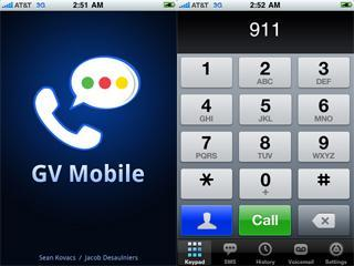 Google Voice app GV Mobile ported to jailbroken iPhones, web app version in the works
