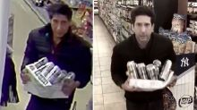 David Schwimmer's hilarious response to viral picture of suspected lookalike thief