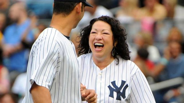 A Yankee fan that risked her life for the Mets