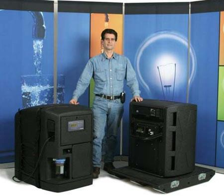Dean Kamen aims to clean water, generate electricity with Slingshot machine