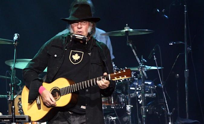 Neil Young says his music is too good for streaming services