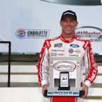 Kevin Harvick will start first in Coca-Cola 600