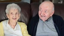 98-year-old mom moves in to nursing home to look after her 80-year-old son
